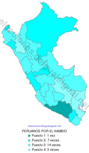 EleccionesPeru2016RankingDepartamental98PERUANOSPORELKAMBIO